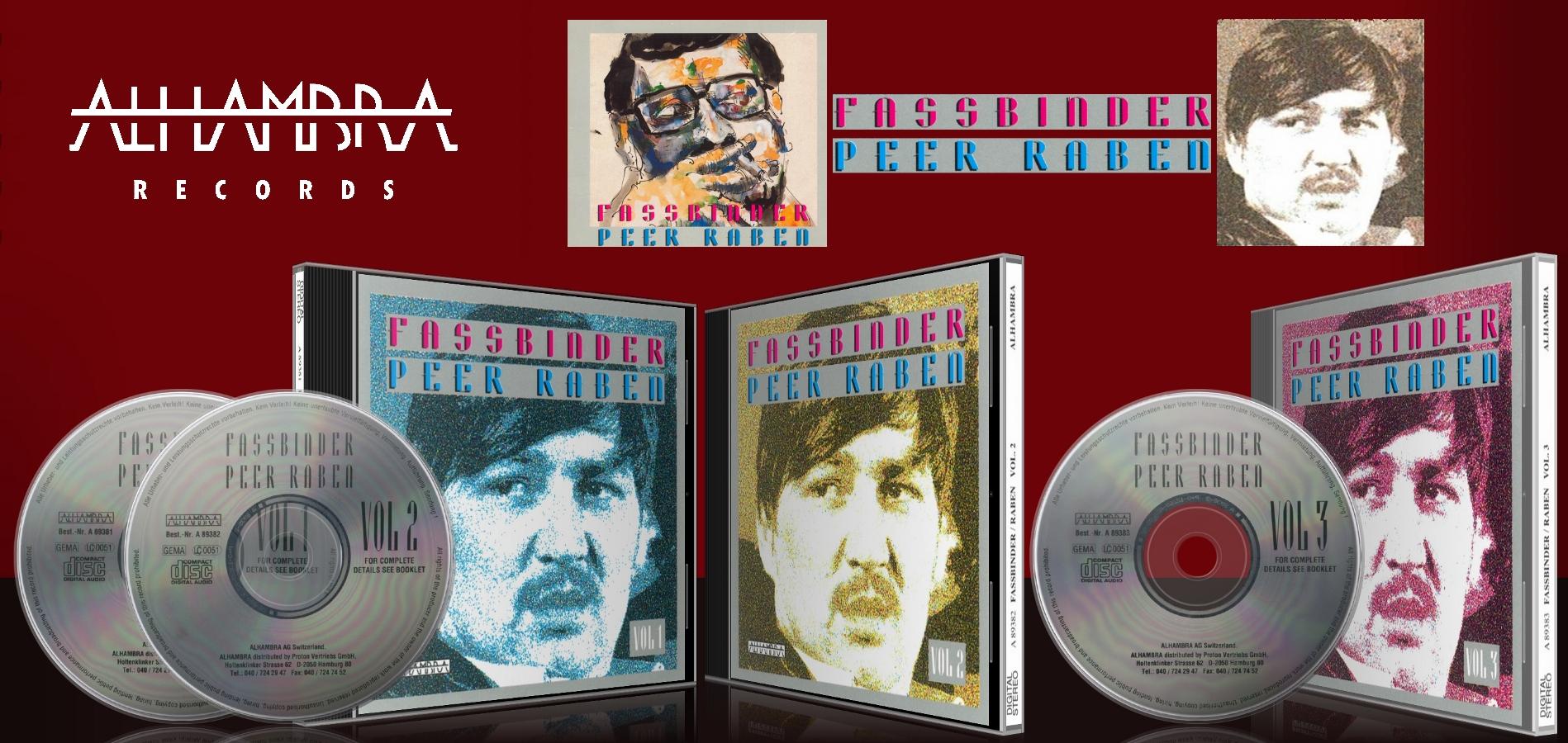 Fassbinder – Peer Raben (3-CD-Set)