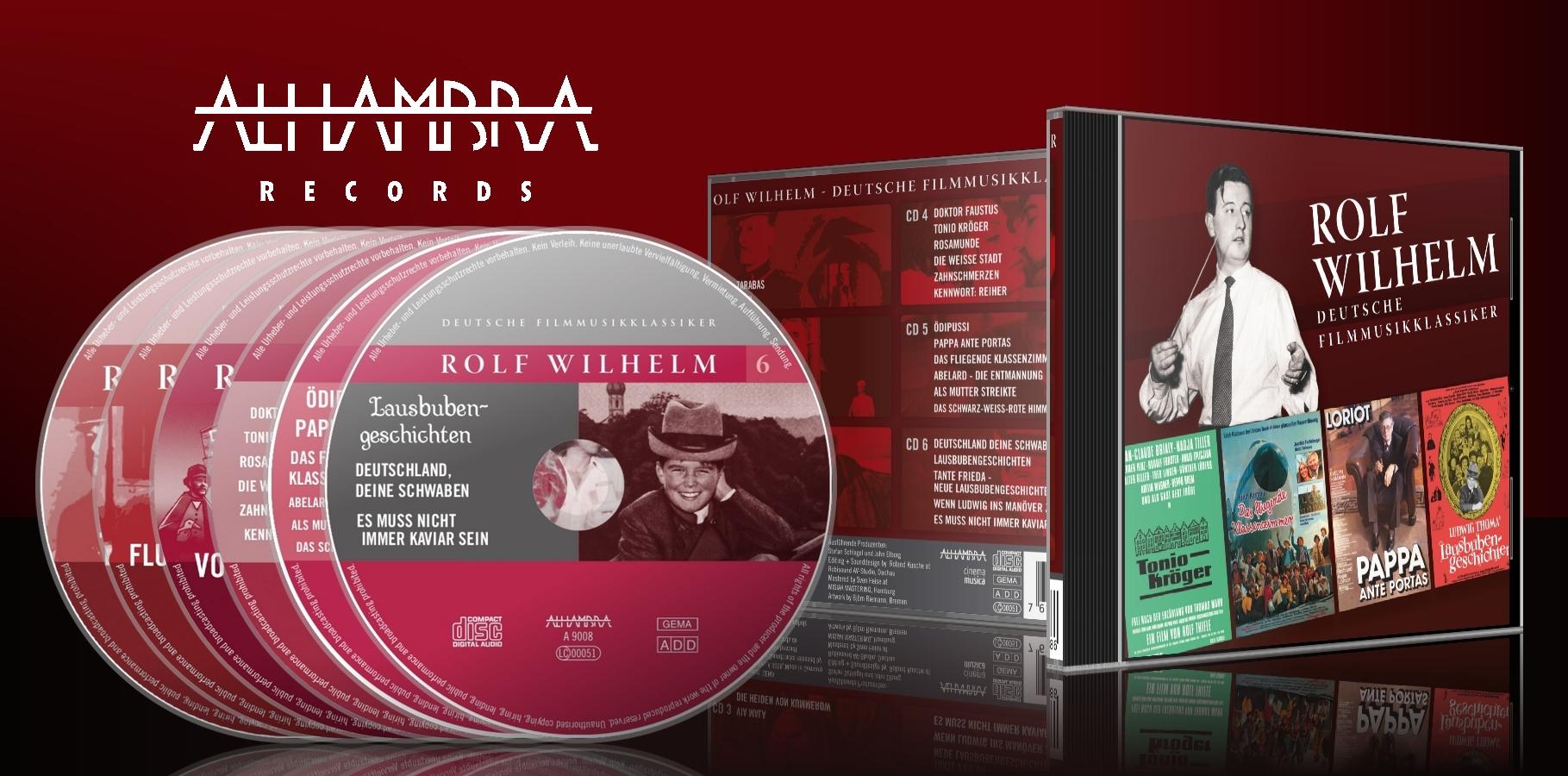 Rolf Wilhelm – Deutsche Filmmusikklassiker