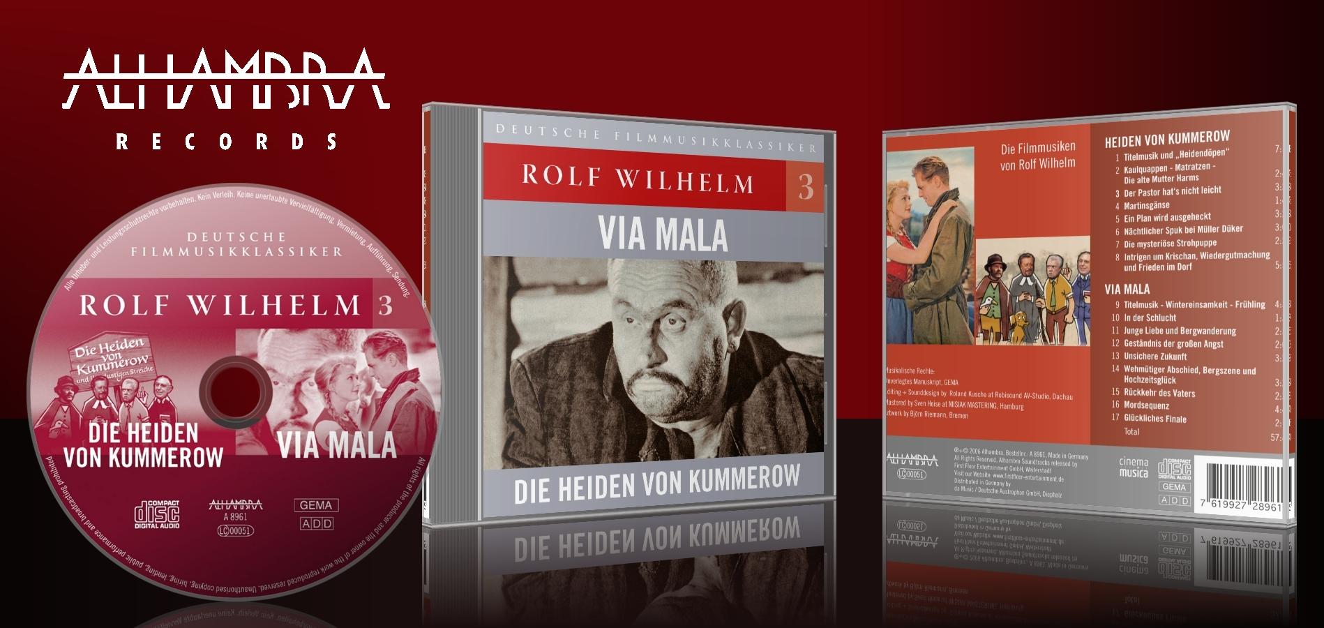 Rolf Wilhelm 3 – Die Heiden von Kummerow, Via Mala