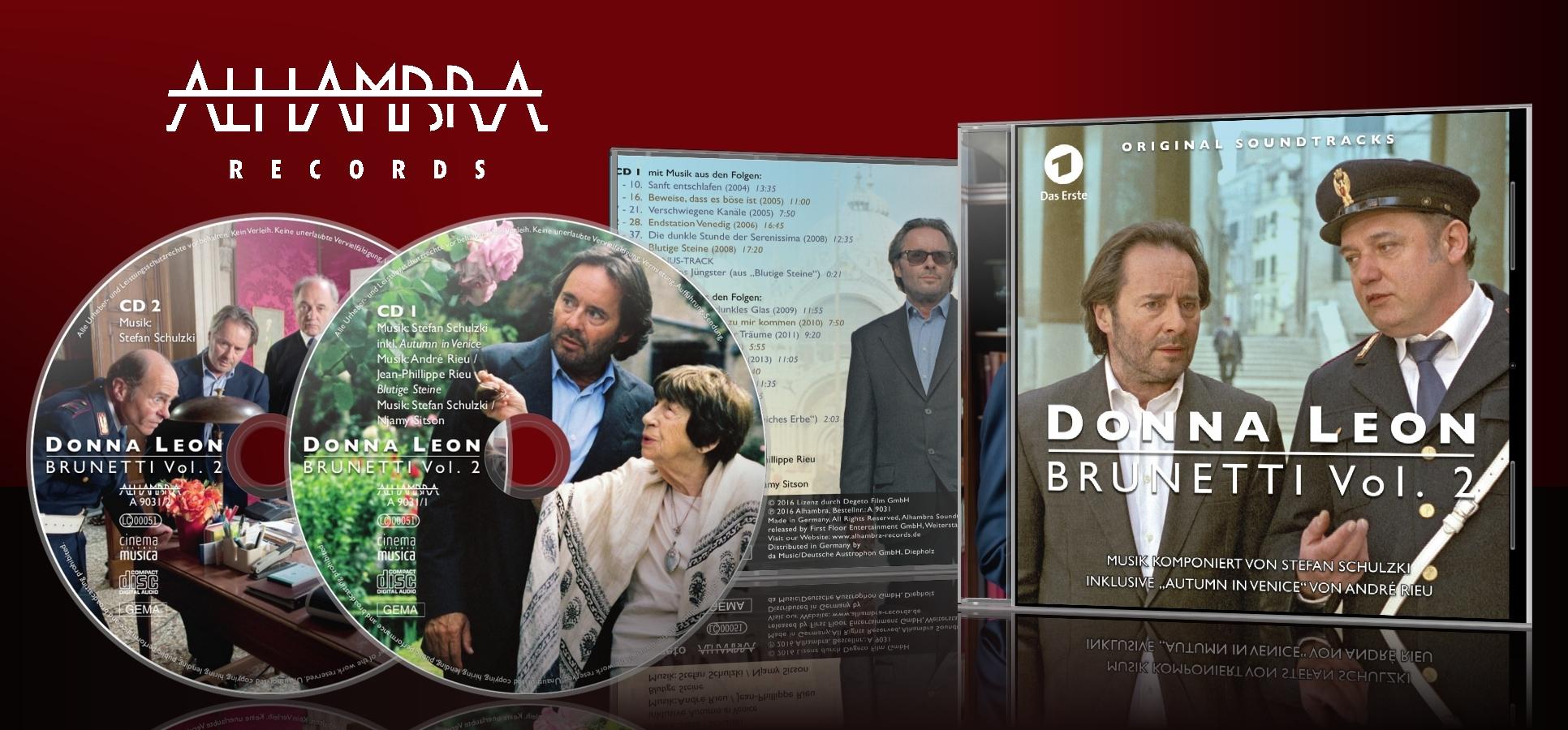 Donna Leon – Brunetti Vol. 2