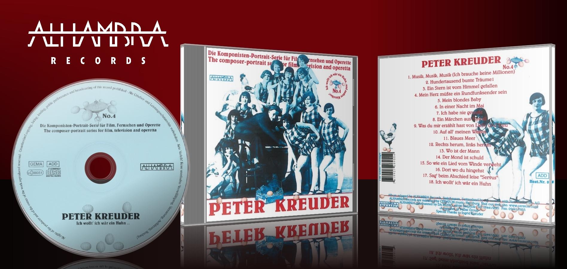 Die Komponisten-Portrait Serie für Film, Fernsehen und Operette Vol. 4 – Peter Kreuder
