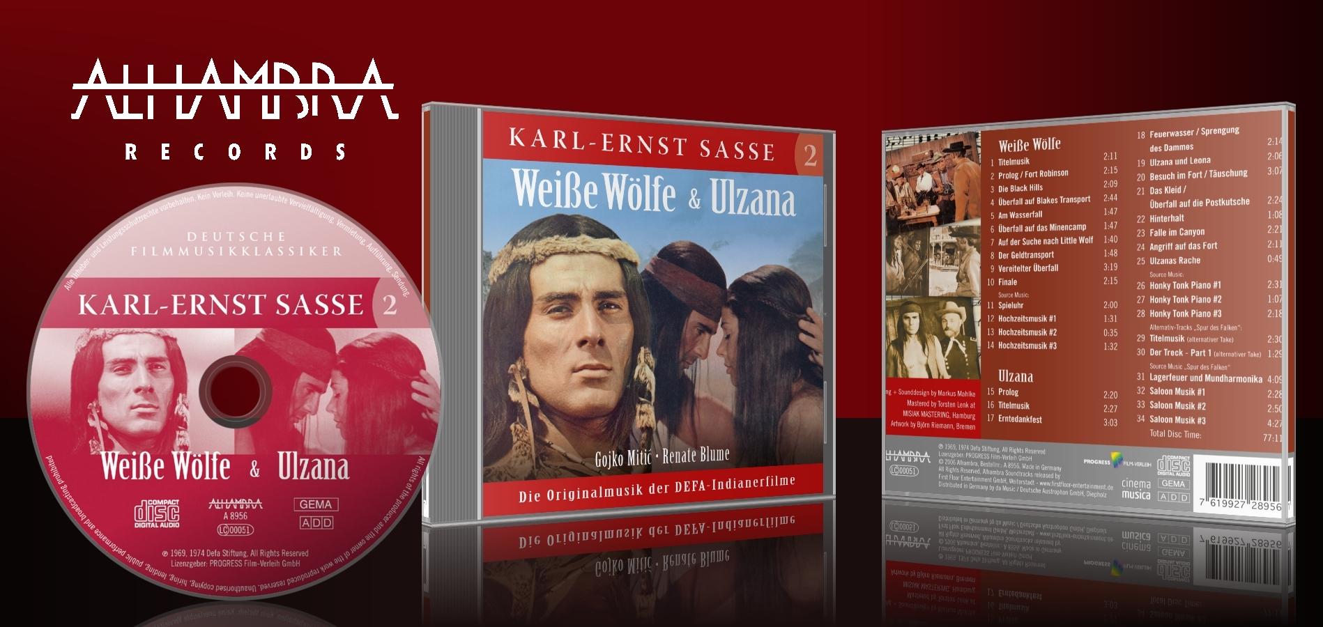 Karl-Ernst Sasse 2 – Weisse Wölfe & Ulzana