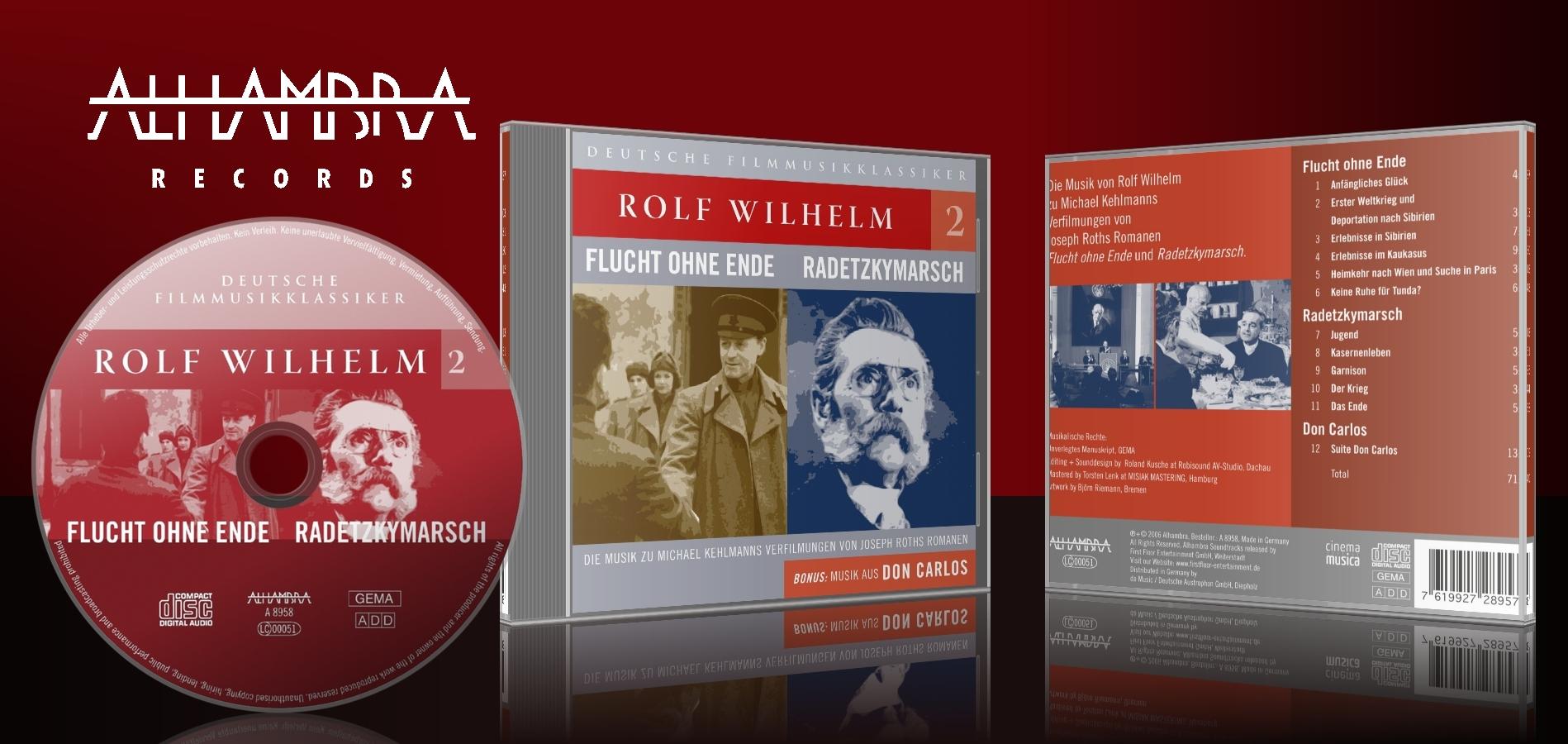 Rolf Wilhelm 2 – Flucht ohne Ende, Radetzkymarsch, Don Carlos
