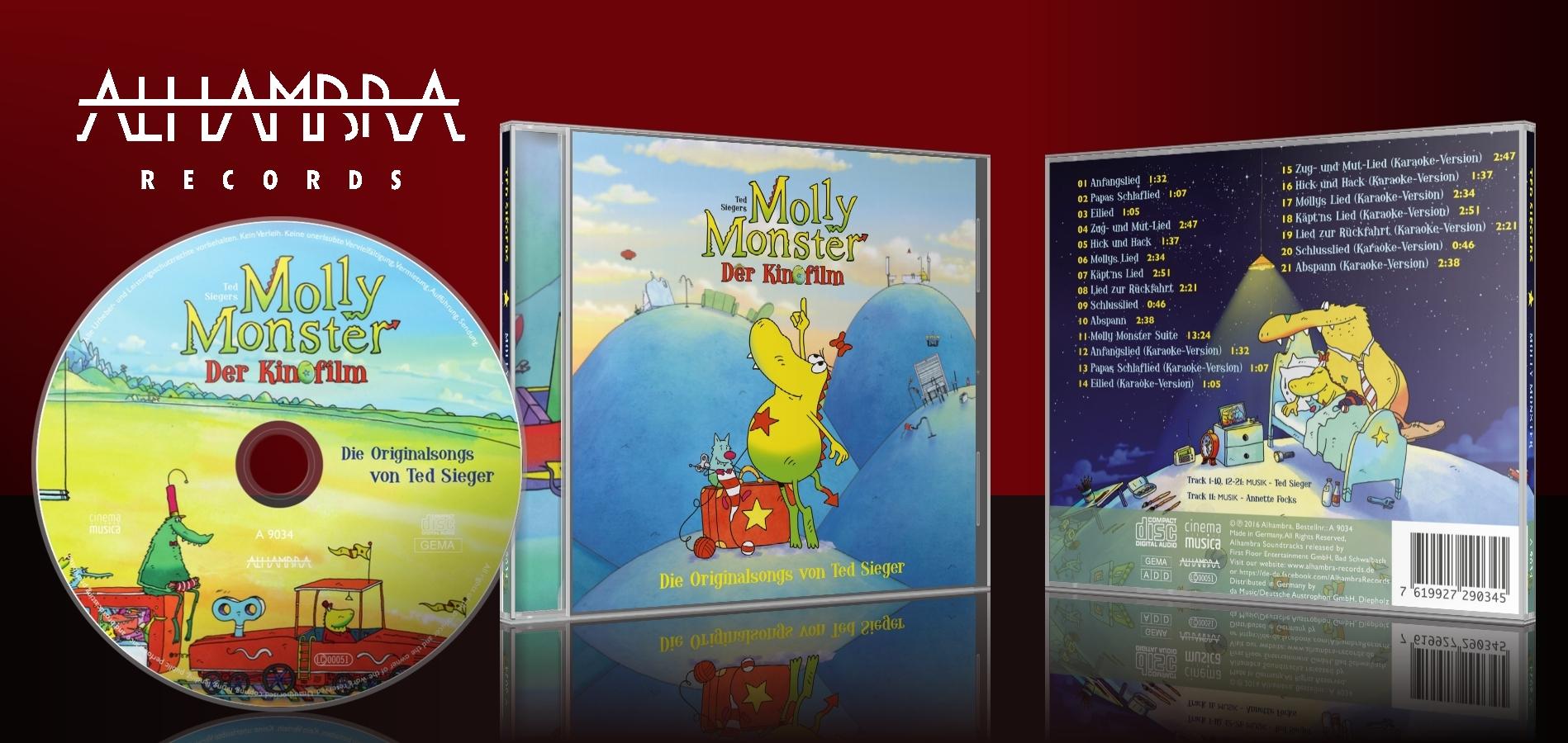 Molly Monster – Die Original-Songs zum Kinofilm