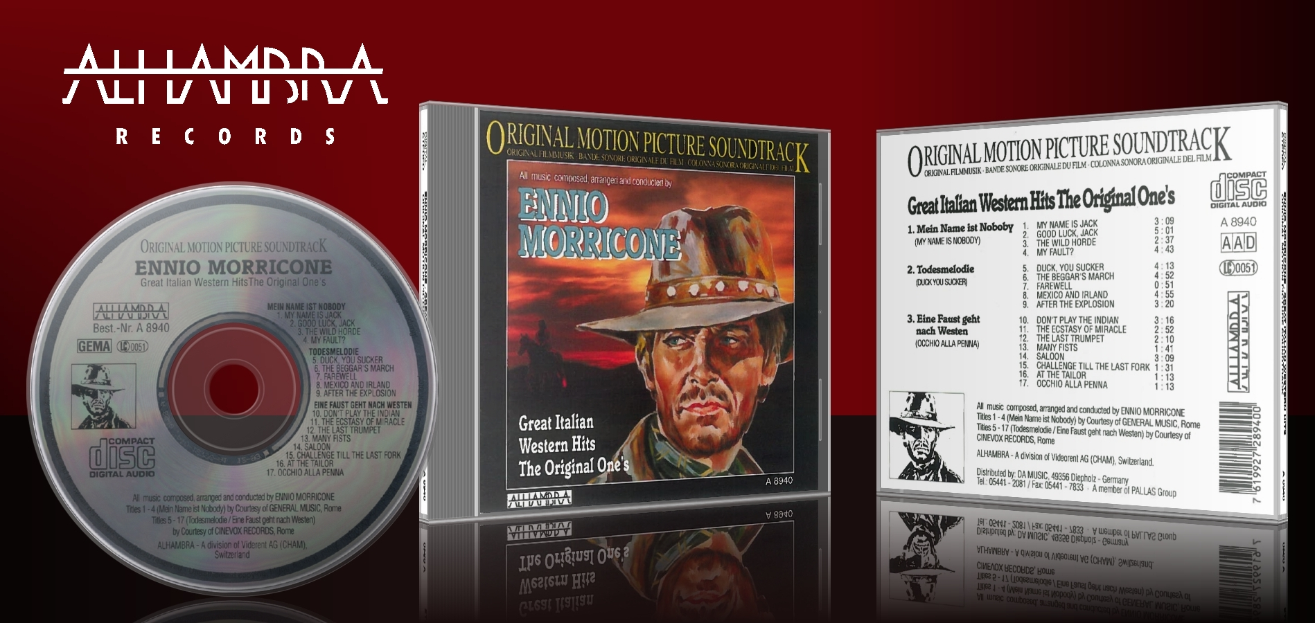 Ennio Morricone – Great Italian Western Hits: The Original One's