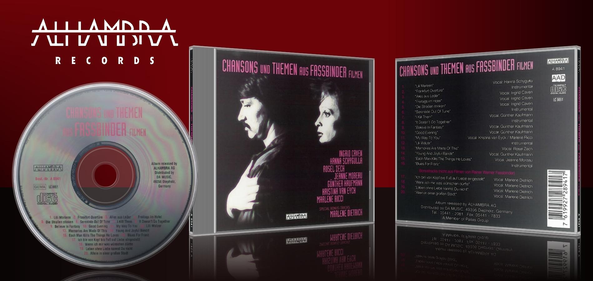 Chansons und Themen aus Fassbinder Filmen