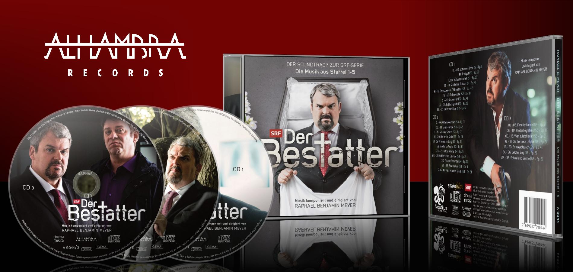 Der Bestatter: Der Soundtrack zur SRF-Serie – Die Musik aus Staffel 1-5