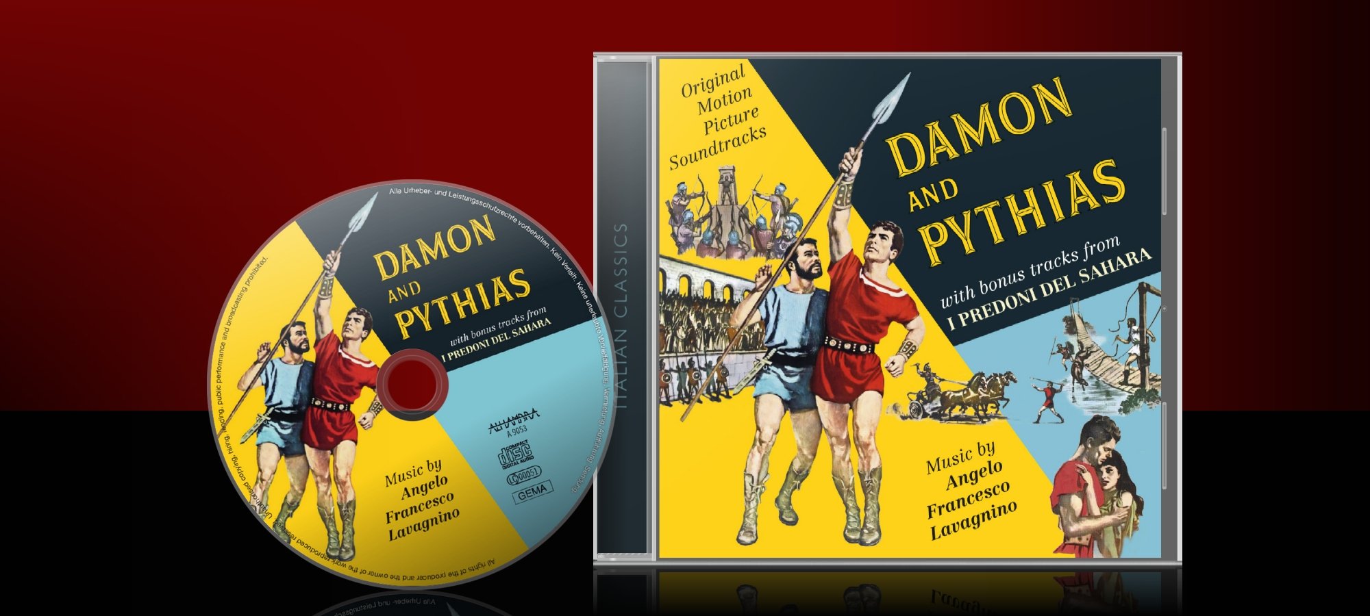 Damon and Pythias / I Predoni del Sahara